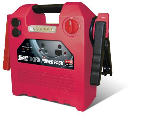 MP738 POWER PACK 12V 20AH 120PSI COMPRESSOR, USB, LIGHT